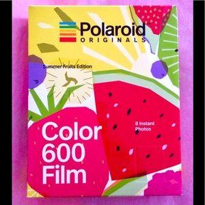 Polaroid 600 Film: Summer Fruits Limited Edition